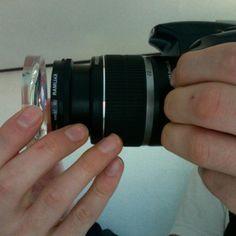 DIY Fisheye lens filter