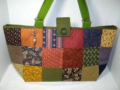 Scrappy Yarn Holder Tote Bag by JDCreativeHands on Etsy