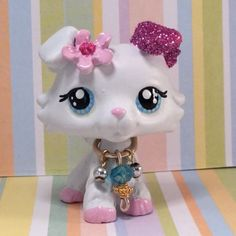 Littlest-Pet-Shop-Cute-Collie-Dog-Ooak-Custom-Hand-Painted-LPS