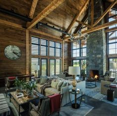Traditional farmhouse with modern details designed by TruexCullins Architecture + Interior Design