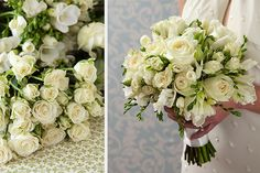 Tara Dennis - see how easy it is to make a bridal bouquet with this step-by-step tutorial