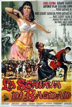 Movie Poster Mondays - Italian poster for SCHEHERAZADE
