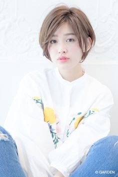 軽さが可愛い小顔ショートヘア【GARDENTokyo 今野佑哉】 | GARDEN HAIR CATALOG | 原宿 表参道 銀座 美容室 ヘアサロン ガーデン Short Hair Styles, Cute, Pictures, Bob Styles, Photos, Short Hair Cuts, Kawaii, Short Hairstyles, Grimm