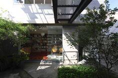 Casa Cayowaa_Jardim e Biblioteca