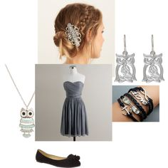 """demigod prom-daughter of Athena"" by justice-m on Polyvore"