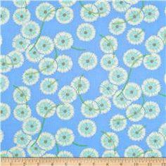 Martha Negley Westwood Puffball Blue