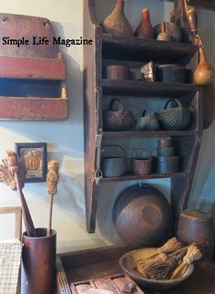 """A Simple Life Magazine """"Harvest"""" 2015 issue. Home of Paul & Nancy Holcomb."""