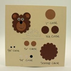 Bear template - Bing Images