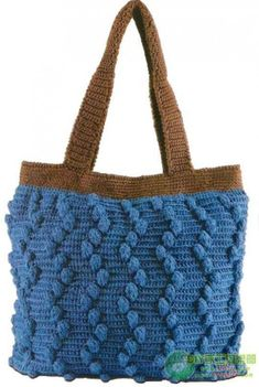 Handbag Tote Bags Purse Squares Crochet Knit
