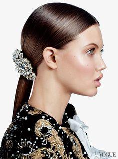 Lindsey Wixson for Vogue