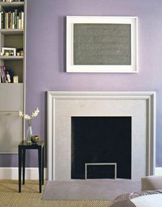 """C2 Bella Donna (C2-316) """"A smoky lavender neutral with both refinement and sex appeal"""" by DD Allen featured in House Beautiful"""
