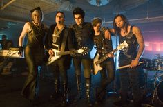 Adam and his band!