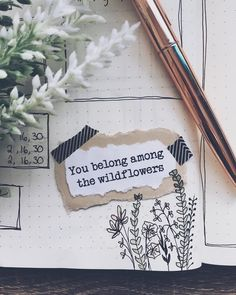 Art Journal Where the wildflowers grow Lol this is creepy. at least it means that you're beautiful. Art Journal Source : Where the wildflowers grow Lol this is creepy. at least it means that Art Journal Pages, Album Journal, Scrapbook Journal, Bullet Journal Ideas Pages, My Journal, Bullet Journal Inspiration, Art Journals, Kunstjournal Inspiration, Journal Aesthetic