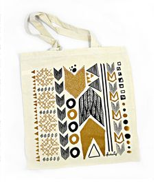 Luxe Directions Tote Bag. $12.00, via Etsy.