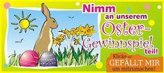 Jetzt mitmachen bei unserem Facebook Gewinnspiel zu Ostern =) Zu gewinnen gibt es einen von insgesamt drei Amazon Gutscheinen im Wert von je 50 Euro. Wuhuuu =)