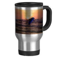 Dolphin love coffee mug