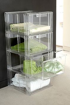 Sweater/Accessory Storage: Drawers - 2 Pack 35 x 36 x 20