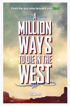 The Official Trailer of ' A Million Ways To Die In The West '   subscribe to aboutstarslife.blogspot.com and get the latest news of stars in your inbox.