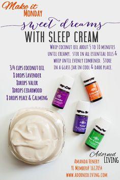 Young living sleep cream: