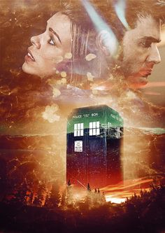 """We can go anywhere through time and space. The Doctor and Rose Tyler, in the TARDIS, just as it should be."""