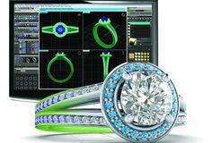 Tạo ra trang sức từ kim loại quý như vàng hoặc bạch kim từ những mẫu 3D