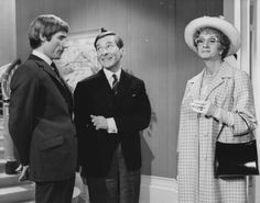 Jim Dale as Dr Nookey, Kenneth Williams as Dr Carver & Charles Hawtrey as Dr Stoppage (in disguise as Lady Puddleton) in Carry On Again Doctor.