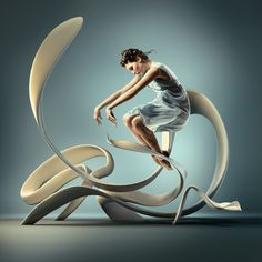 Frozen Dancers in Air - Inspiring 3D Sculptures that represents their motion and…