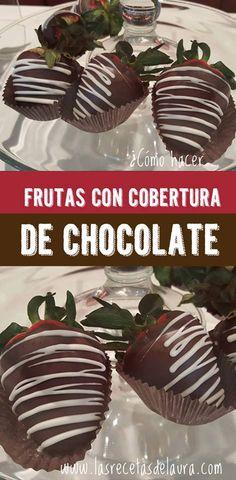 Receta Saludable Facil y rapida para toda la familia ARREGLOS FRUTALES CON CHOCOLATE