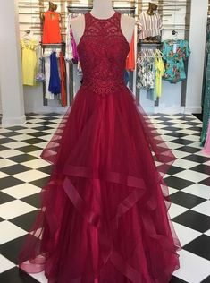 Plus Size Prom Dress, A-Line Organza With Beading Scoop Sleeveless Floor-Length Dresses Shop plus-sized prom dresses for curvy figures and plus-size party dresses. Ball gowns for prom in plus sizes and short plus-sized prom dresses Prom Dresses For Teens, Plus Size Prom Dresses, Cheap Prom Dresses, Prom Party Dresses, Dress Prom, Dress Long, Banquet Dresses, Dress Formal, Formal Gowns