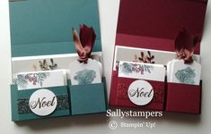 Joyous Noel Suite creates the perfect partner to this gorgeous card Set. Independent Stampin' Up! Christmas Craft Fair, 3d Christmas, Homemade Christmas Cards, Christmas Gift Tags, Xmas Cards, Handmade Christmas, Stampinup Christmas Cards, Stampin Up Christmas 2018, Christmas Ideas