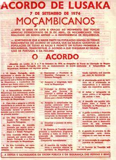 A primeira página do folheto posto a circular aquando do anúncio público, em Moçambique, do acordo entre os militares portugueses e a guerrilha da Frelimo.