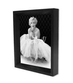 marilyn monroe ballerina framed 3d shadowbox poster a simple and innocent look of americas first
