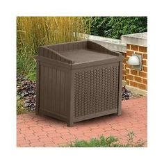 Outdoor-Storage-Seat-Resin-Wicker-Outdoor-Patio-Bin-Garden-Deck-Box-Container