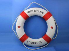 Red 30 RMS Titanic Decorative Wedding by NauticalBeachDecor