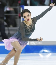 Russian Evgenia Medvedeva performs in the free skate during the Grand Prix Final in Marseille on Dec 10 2016 Medvedeva won the title