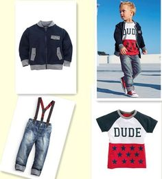 8fc0b56c00e8 2015 Babies Clothes Autumn Boy Gentleman Cowboy Suit Jacket + Pants Group+  T-shirt Cowboy