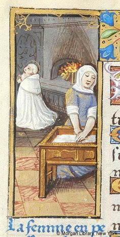 Book of Hours, MS H.5 fol. 102v - Images from Medieval and Renaissance Manuscripts - The Morgan Library & Museum
