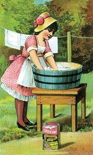 Herbal All-Natural Home Cleaning Series - Part 2 - Powdered Laundry Detergent Vintage Cards, Vintage Images, Vintage Posters, Vintage Clip, Vintage Ephemera, Vintage Pictures, Vintage Prints, Vintage Decor, Vintage Ladies