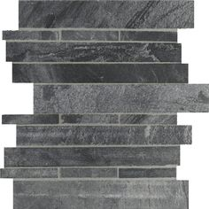 Great colour, movement - what size? Grey Ostrich Slate/Quartzite Honed Stacked Stone Mesh Tile - bathroom Does this come in tumbles? White Tiles Grey Grout, Grey Bathroom Tiles, Stone Bathroom, Bath Tiles, Bathroom Design Small, Bathroom Ideas, Slate Shower, Stone Tiles, Stone Backsplash