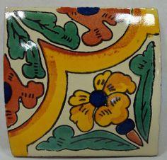 Yellow Ribbon Ceramic Tile- Tres Amigos