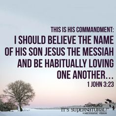 It is by our love that all people will know we are His disciples!