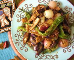 Sri Lankan Brinjal Moju (Eggplant Stirfry)