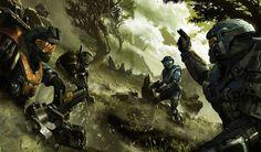 Iconic sci-fi art from Alex Chin Yu Chu