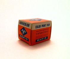 Vintage Agfa Rapid Color Print Film. $7.00, via Etsy.