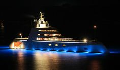 A, owned by Russian Oligarch Audrey Melnichenko, is a visually stunning super yacht designed by Philippe Starck and features a streamlined design that is said to be able to navigate icebergs with ease. The vessel's unusual aesthetics has led to it becoming one of the most talked about private yachts in the world with many people divided over whether it is an example of engineering brilliance or an eyesore. #Travel #Luxury #Yacht #Sea