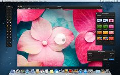 Can't afford Photoshop? Pixelmator is a great piece of mac software that does a lot for the price.