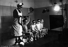 Nazi nurses behind the 'Super Race Children': Inside the Aryan breeding wards where boys and girls were given UV treatment if their hair turned brown