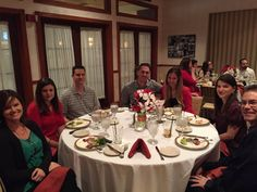 Enjoying ourselves at our #HolidayParty!