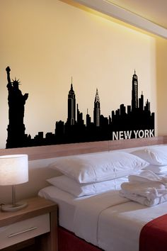 New York wall decal by WALLTAT.com