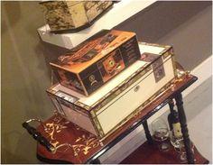 Acesse a Adoro Presentes e adquira a sua caixa de charutos! #caixadecorativa #decoraçãocriativa